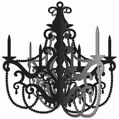 Party in Paris Hanging Chandelier Prop Birthday Party - Paris Party