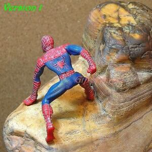 Cake-Topper-HASBRO-1-MARVEL-COMICS-SPIDERMAN-FIGURE-STATUE-DIORAMA-A140