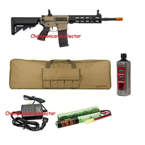 Tippmann Commando AEG Carbine 14.5 in - Tan Combo / Package