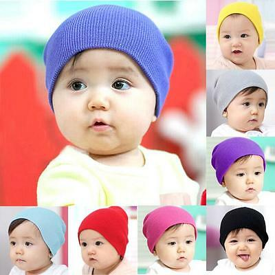 Cute Baby Beanie Hats Boy Girls Soft Winter Warm Hat Kids Knitted Cap Xmas Gifts