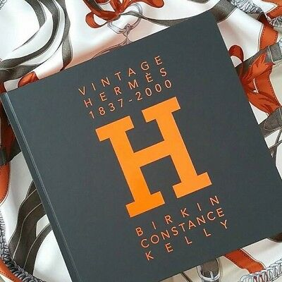 Luxury Book on the History of the Hermès Birkin, Kelly & Constance (300+pg)