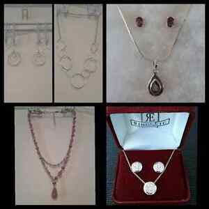 Costume Jewellery for Sale - Necklace and Earrings Cornwall Ontario image 1