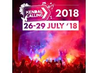 1 x Kendal Calling ticket Thursday/weekend and parking