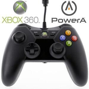 REFURB XBOX 360 POWERA CONTROLLER - 113046703 - WIRED PRO EX VIDEO GAMES BLACK