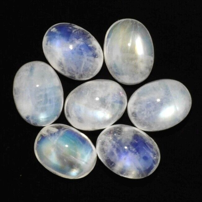 NATURAL WHITE MOONSTONE 14 x 10 MM OVAL CAB CALIBRATED COMMERCIAL 1 PIECE F-2737