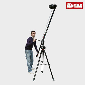 Hague Junior Jib DSLR Camera Crane and Pulley Camcorder Tilt System for Tripods