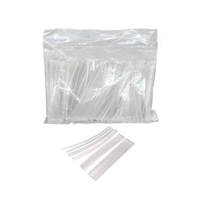 Schrumpfschlauch Sortiment Transparent 100 Teile Set 10 cm 1,5-13 mm Klar 6466