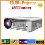 Beamer projector 3D Full HD 1080P LED 4500 lumen + WIFI W...