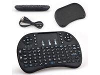 2016/17 RII i8+ Backlit 2.4G UK Layout Wireless Keyboard with Touchpad Kodi XBMC FlatScreen Computer