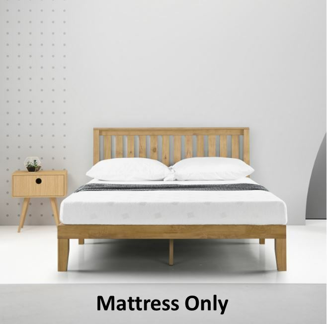 Memory Foam Mattress Full Size Bed Furniture Platform Spare