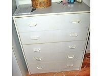 Assembled Chest of 5 Drawers Whyite