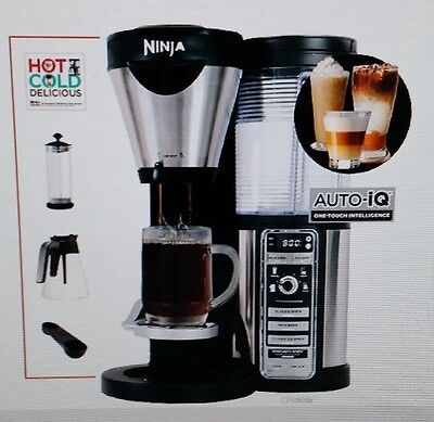 Ninja Coffee Bar Auto-iQ CF080A Coffee Maker Brewer SLIGHTLY USED