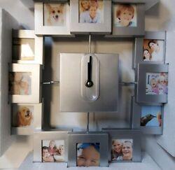 Treasure It Family Photo Wall Clock
