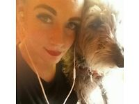 25yo Professional female with dog, looking for 1 bed property in Leeds