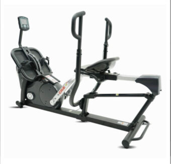 Inspire fitness cr2 cross rower rrp $2.5k treadmill rowing machine