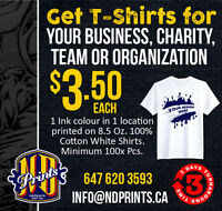 Custom printed t-shirt / Apparel/ Screen Printing