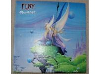 RARE KRAUTROCK. ELOY: PLANETS. WITH ORIGINAL LYRIC INNER. 1982 £24.99 OVNO