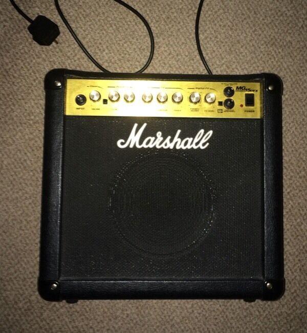 Marshall MG15 DFX Amp