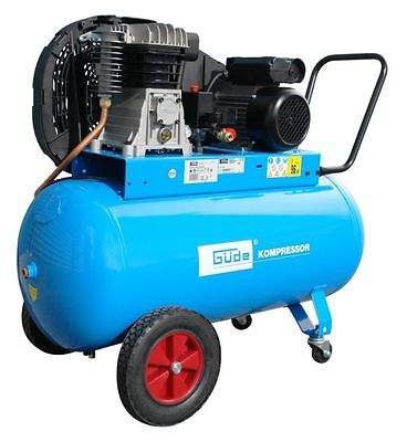 Güde Kompressor 420/10/100 EU 230V, Kolbenkompressor, Druckluftgerät, Druckluft