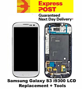 Samsung-Galaxy-S3-i9300-LCD-Digitizer-Touch-Screen-Frame-Replacement-White-Tool