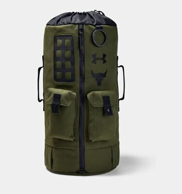 Under Armour Project Rock 60 Bag BackPack Green #1345663
