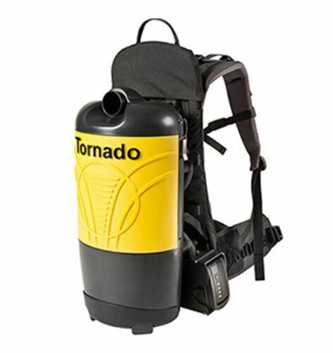Tornado Pac-Vac 6 Roam, 6 Quart Battery Powered Backpack Vacuum