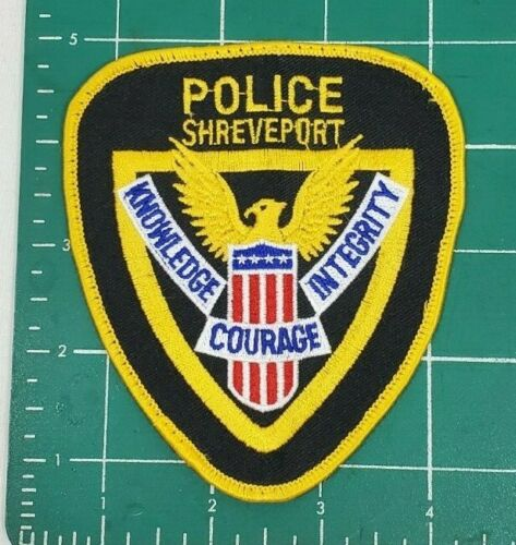 SHREVEPORT LOUISIANALA POLICE SHOULDER PATCH *KNOWLEDGE COURAGE INTEGRITY*