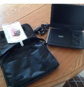 PROSCAN Portable DVD Player & case