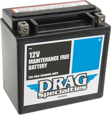 Drag Specialties AGM Maintenance Free Battery Harley Davidson Sportster