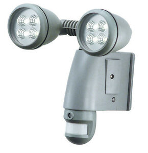 Security lights with camera motion sensor