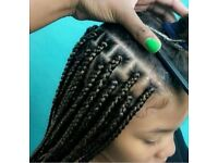 Afro-Caribbean Mobile Hair-Dresser Maidstone Kent - Senegalese Twists, Box Braids styles etc..