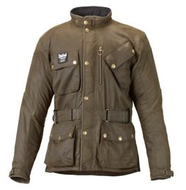Barbour / Triumph waxed jacket - Motorcycle - Casual - Removeable Armouring