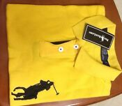 Polo Shirt Ralph Lauren Big Pony Men Custom Fit
