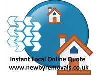 Free..Simple Easy Local Online Quote (Cheap House Removals, Man and Van hire)