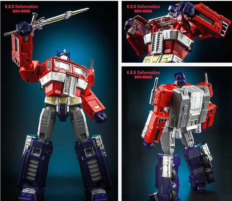 TRANSFORMERS Masterpiece Optimus Prime  Ultra Magnus KBB MP10 Kubianbao UK stock