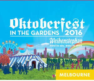 Octoberfest in the Gardens Melbourne 3 tickets East Melbourne Melbourne City Preview