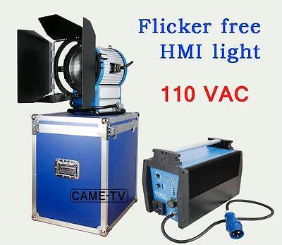 110V CAME-TV 2500W HMI Fresnel Light +2.5/4KW Electronic Ballast