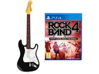 Rock band 4 with fender