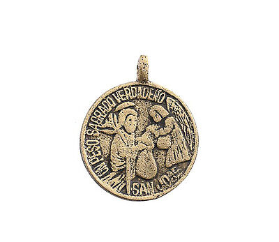 Amulet of Philippines Saint Joseph Peso Sagrado Real Anting Anting L24