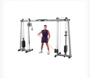 Body Solid Deluxe Cable Crossover