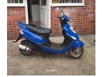 50cc scooter with 80 kit on