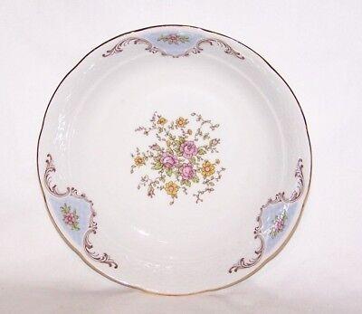 """Thun Vignette Soup / Salad Bowls 7 1/2"""" Czechoslovakia Embossed Weave / Floral 8"""