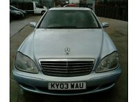 MERCEDES BENZ S320 2003 FOR SALE