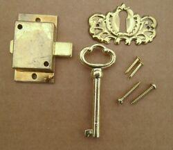 Cabinet Door Lock Set Key Curio Grandfather Clock China Jewlery NEW # 1
