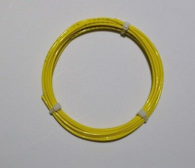22 Awg 1000v Yel Mil-spec Wire Ptfe Stranded Silver Plated 30 Ft