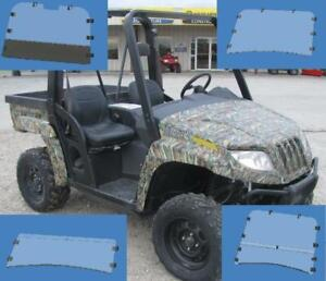 Arctic Cat Prowler 550, 650, 700, 1000 [Square tubes] 2006-11 Windshield, Back Window Dust Panel, Roof
