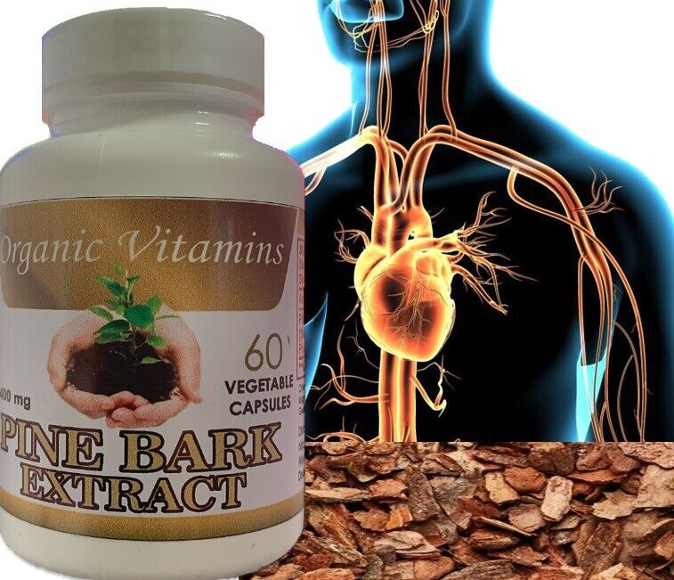 PINE BARK EXTRACT 60 CAPSULES 400mg BEST DEAL of pine Pycnogenol French Maritime 4