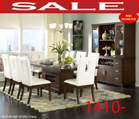 Model 1410-92_S2 9pc, dining set
