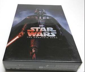 2017 Star Wars: The Complete Saga DVD (I,II,III,IV, V, VI, 12-Disc Box Set 1-6)