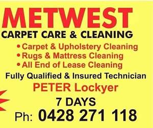 METWEST CARPET CLEANING Penrith Penrith Area Preview